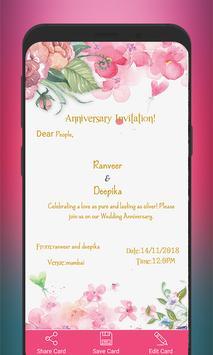 Invitation Card Maker screenshot 5