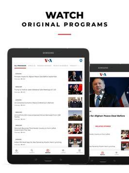 VOA News English syot layar 7