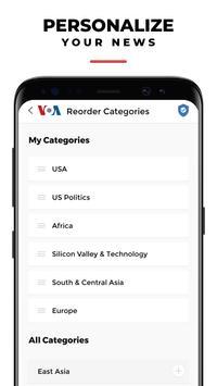 VOA News English syot layar 4