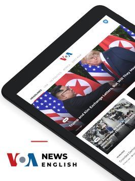 VOA News English syot layar 5