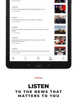 VOA News English syot layar 8