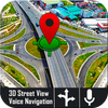 голос GPS-навигатор живого трафика транзитных карт иконка