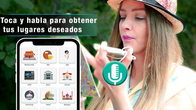 Navegador GPS de voz en tiempo mapas de tránsito captura de pantalla 9