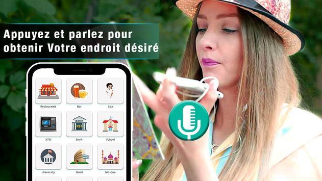 voix GPS navigator trafic en direct et cartes de Affiche