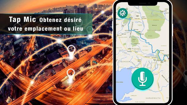 voix GPS navigator trafic en direct et cartes de capture d'écran 14