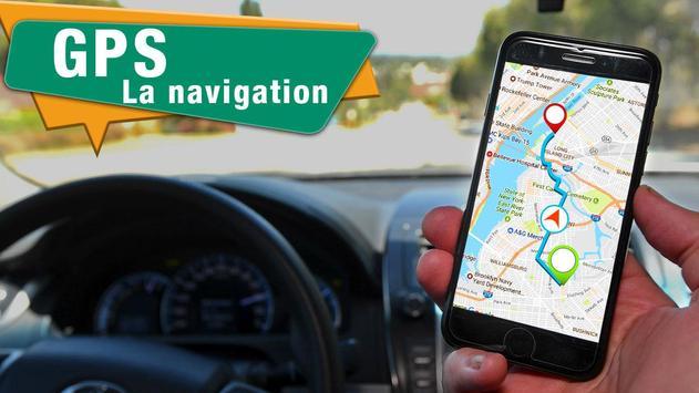 voix GPS navigator trafic en direct et cartes de capture d'écran 11