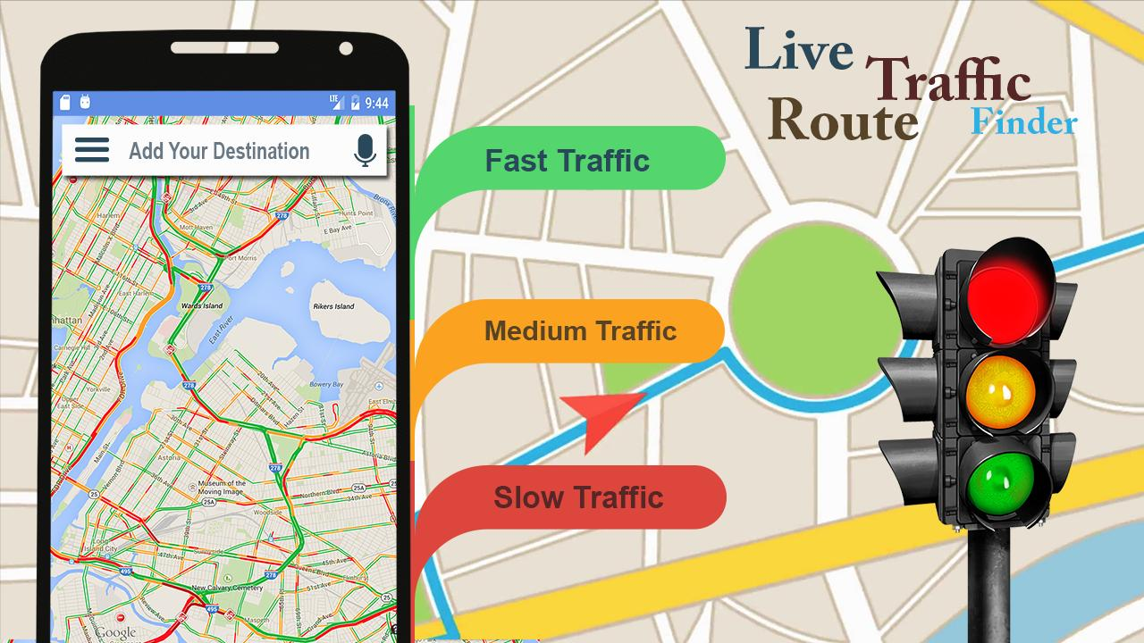Voice Gps Navigator Live Traffic Transit Maps For Android Apk