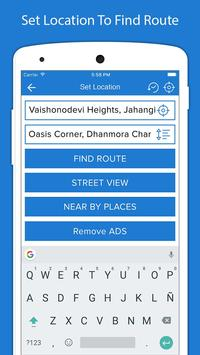 1 Schermata Indicazioni stradali GPS voce - Navigazione GPS