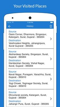 5 Schermata Indicazioni stradali GPS voce - Navigazione GPS