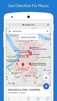 6 Schermata Indicazioni stradali GPS voce - Navigazione GPS