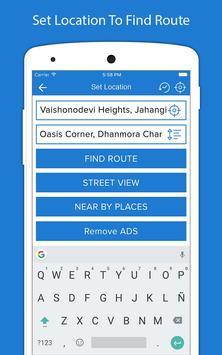 8 Schermata Indicazioni stradali GPS voce - Navigazione GPS