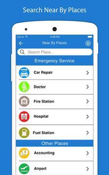 Voice Directions GPS - Navigation GPS capture d'écran 9
