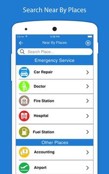 9 Schermata Indicazioni stradali GPS voce - Navigazione GPS