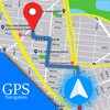 Voice GPS Driving Route : Gps Navigation & Maps icon