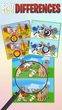 Find the differences  Brain Puzzle Game poster