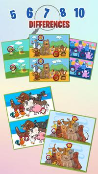 Find the differences  Brain Puzzle Game screenshot 2