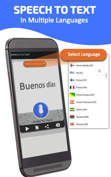 Voice to text converter - speak to text app screenshot 2