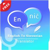 English to Slovenian Translate - Voice Translator icon