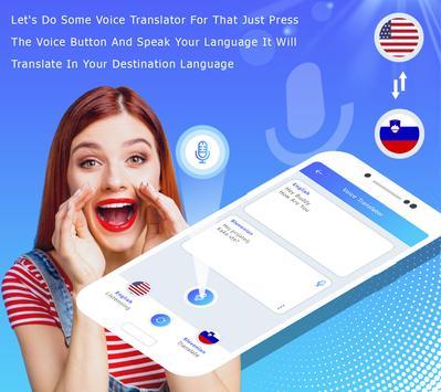 English to Slovenian Translate - Voice Translator screenshot 4