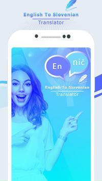 English to Slovenian Translate - Voice Translator screenshot 1