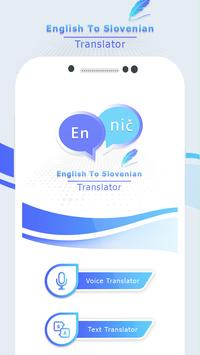 English to Slovenian Translate - Voice Translator screenshot 2
