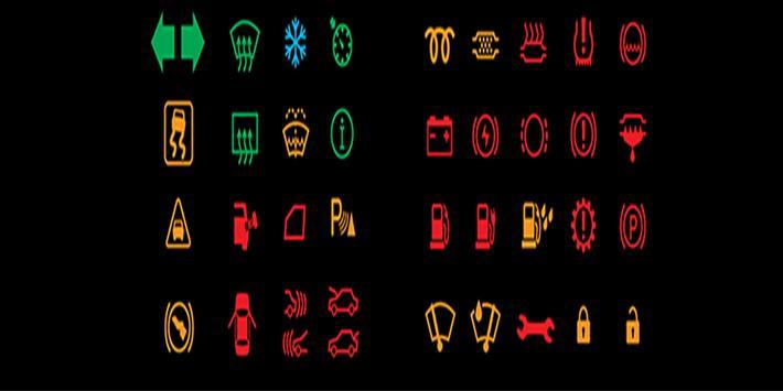 لمبات ورموز الطبلون ومعانيها لجميع السيارات screenshot 1