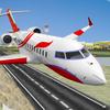 город самолет пилот полет 3d иконка