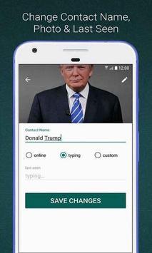 Create Whats Fake Chat (Prank Conversations) screenshot 3