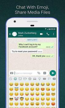 Create Whats Fake Chat (Prank Conversations) poster