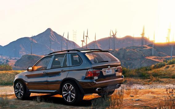 Driving BMW X5 SUV Simulator screenshot 1