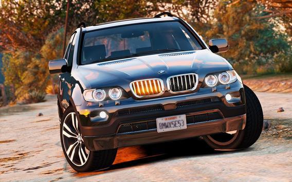 Driving BMW X5 SUV Simulator screenshot 2