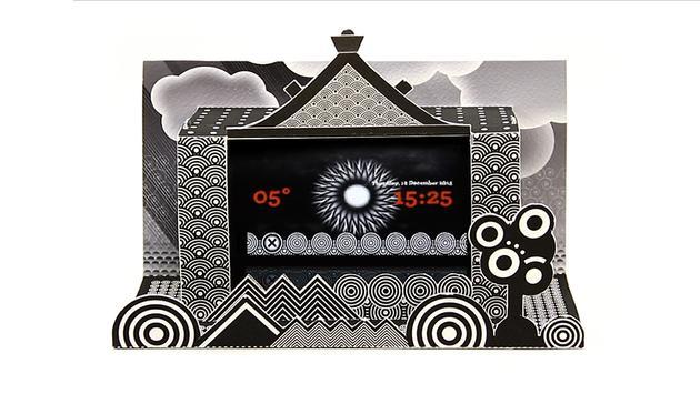 Paper Alarm Clock screenshot 4