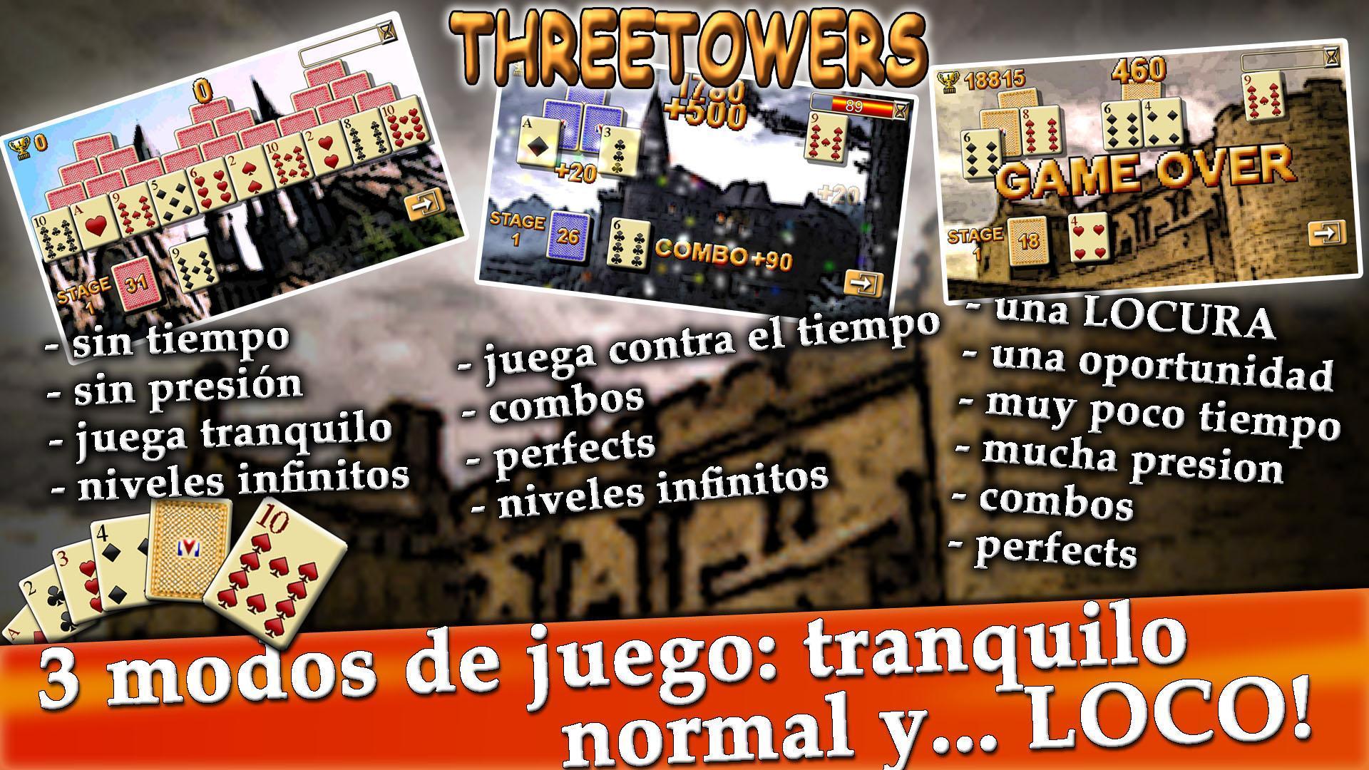 Simular antecedentes articulo  TresTorres, Solitario de Cartas Arcade Gratis for Android - APK Download
