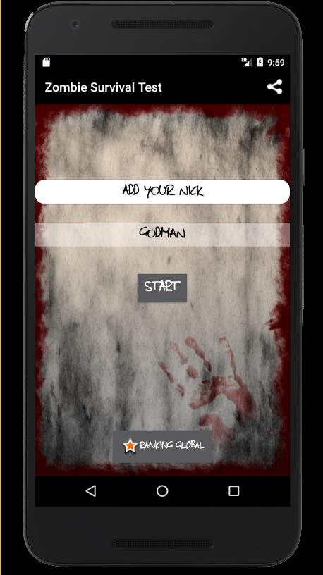 Zombie Survival Test Quiz For Android Apk Download