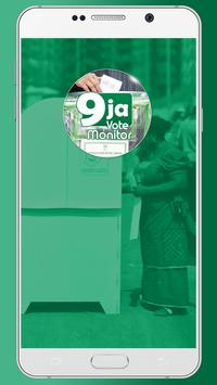 9ja Vote Monitor poster