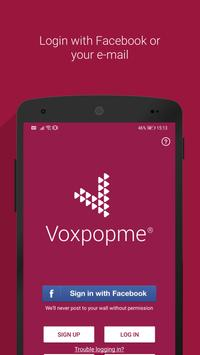 Voxpopme poster