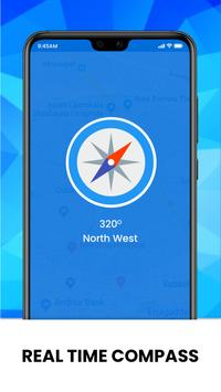 Real-time GPS, Maps, Routes, Direction and Traffic screenshot 3