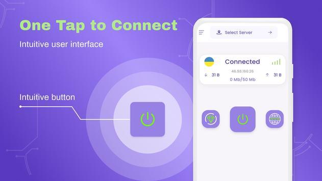 VPN Free - Private VPN App, Fast Secure, Proxy screenshot 3