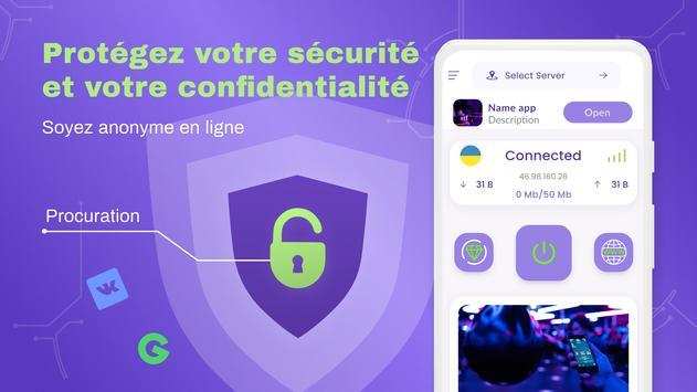 VPN gratuit illimite pour android - VPN rapide capture d'écran 6