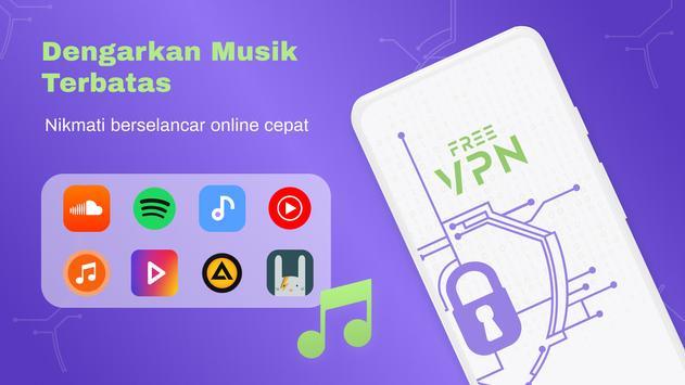 VPN Gratis - VPN Tanpa Batas, Cepat Aman, Proxy screenshot 7