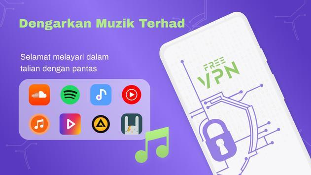 VPN Percuma - VPN Tanpa Had, Cepat Selamat, Proksi syot layar 7