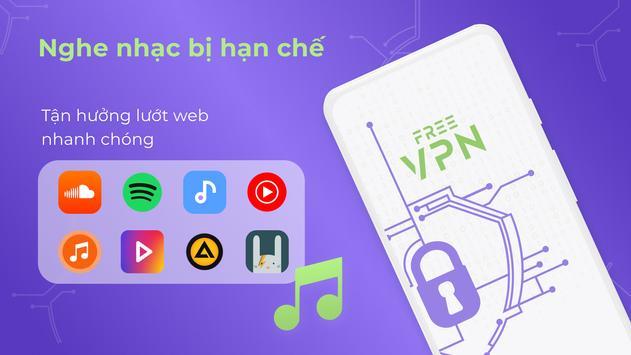 VPN miễn phí - VPN không giới hạn, Bảo mật nhanh ảnh chụp màn hình 7