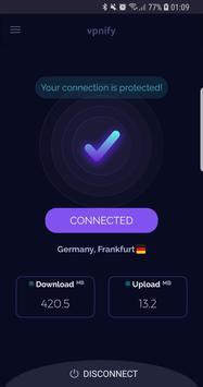 Free VPN - limitless secure hotspot proxy vpnify Cartaz