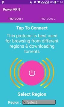 Power VPN Free VPN स्क्रीनशॉट 5