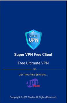 Super VPN Free Client screenshot 1