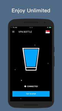 VPN BOTTLE Free Security Unblock Shield Proxy Free screenshot 2