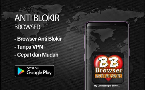 BF-Brokep Browser Anti Blokir - VPN Browser poster
