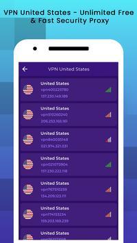 VPN USA - USA VPN Free screenshot 4
