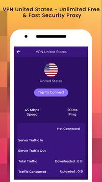 VPN USA - USA VPN Free screenshot 5