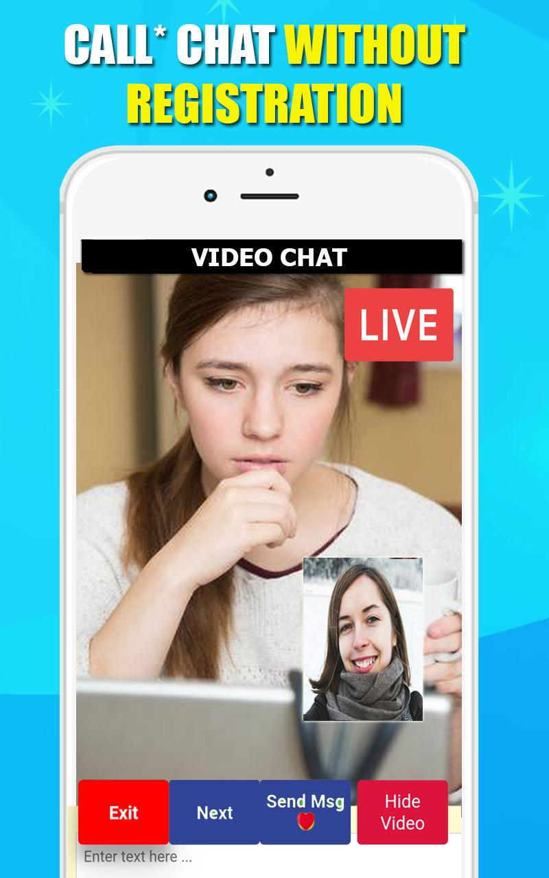 Video Call Chat - Random Video Chat With Strangers for